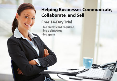 Helping Businesses Communicate, Collaborate, and Sell